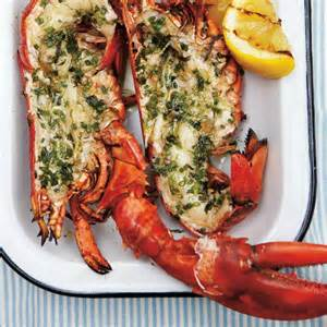 homard grill 233 aux herbes ricardo