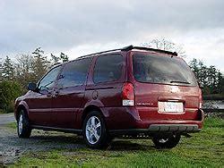 active cabin noise suppression 2005 pontiac montana sv6 instrument cluster first drive gm s 2005 minivans chevrolet uplander pontiac montana sv6 buick terraza saturn