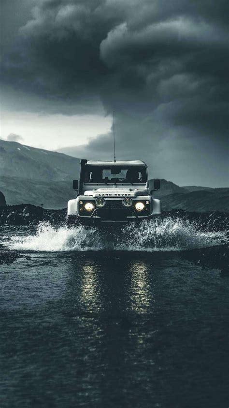 land rover defender  road iphone wallpaper iphone