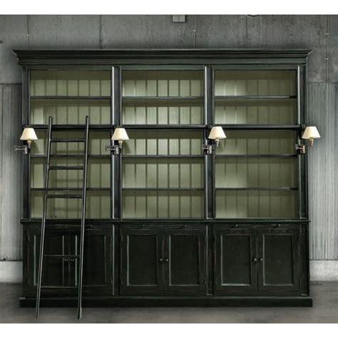 libreria scaletta libreria in legno con scaletta dialma brown db001646