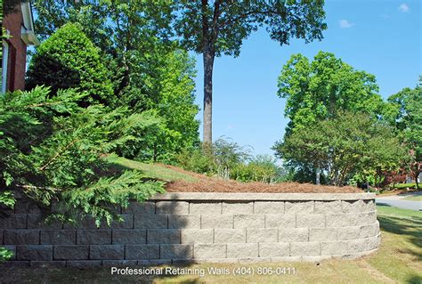Residential Retaining Walls Atlanta Retaining Walls Earth Retention Wall