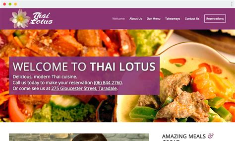 thai lotus restaurant menu thai lotus restaurant quest marketing