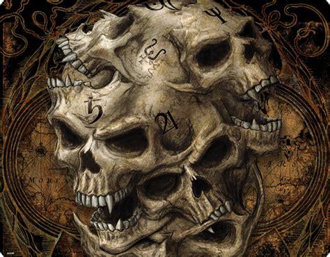 Evil Skull skeleton skull evil skulls