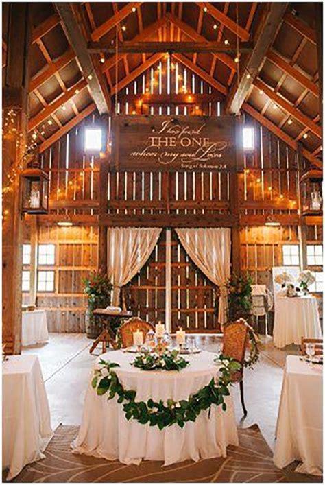 45 Romantic Barn Wedding Decorations   Wedding Decor