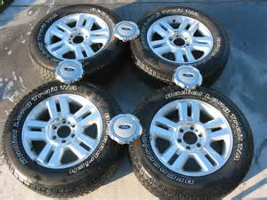 Ford Truck Wheels For Sale 2004 Oem Ford Lariat F150 Wheels