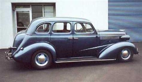 1938 chevy 4 door sedan santanainteriors