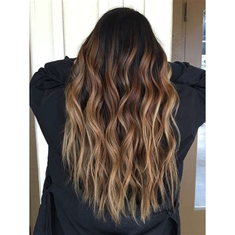 The Chair Balayage by Rooty Caramel Balayage Behindthechair