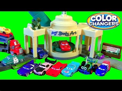 story color changers ramone s color change playset story sets disney pixar cars
