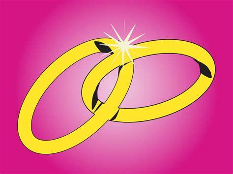 Wedding Rings Vector Free by Wedding Rings Graphics Vector Graphics Freevector