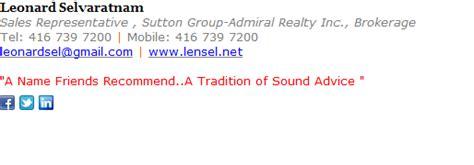 get a free sales representative email signature