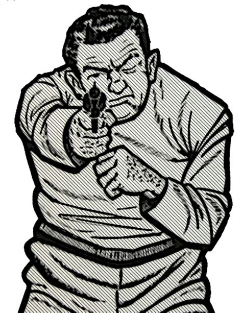printable bad guy targets self defense tip beware the bully the truth about guns