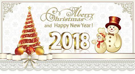 christmas card   christmas tree  snowman stock vector illustration
