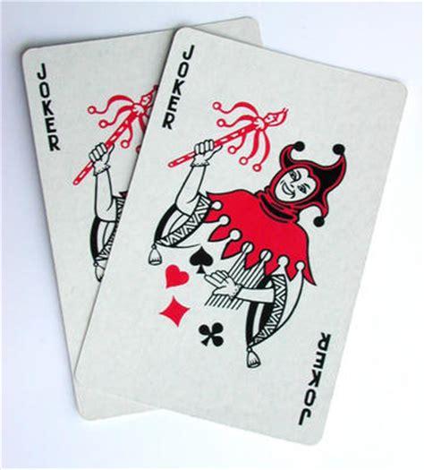 deck of joker cards joker cards value stock photo