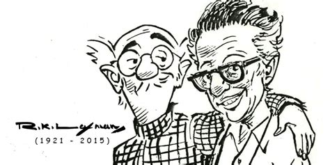 R K Laxman Sketches by The Common Pariferal