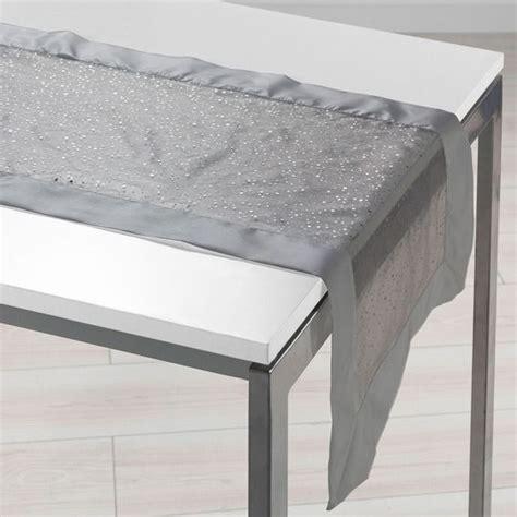 runner da tavola runner da tavola l140 cm festille grigio biancheria da