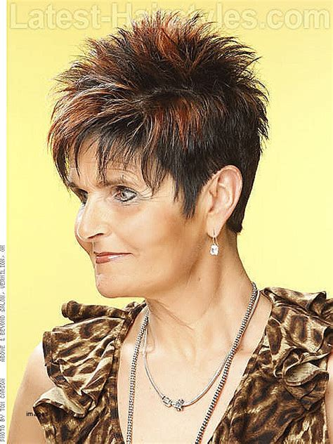 short hair styles for 60plus short hairstyles short spiky hairstyles for women over 60