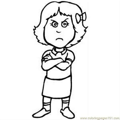 angry face coloring page coloring pages
