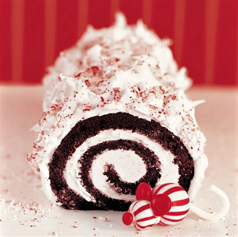 Ideas For Birthday Decorations At Home peppermint yule log
