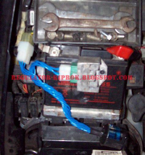 Regulator Kiprok Honda Megapro Mono Asli rk motor lu projector hid lu led cree