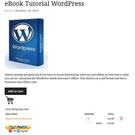 ebook cara membuat website dengan wordpress cara membuat toko sederhana di wordpress dengan simple