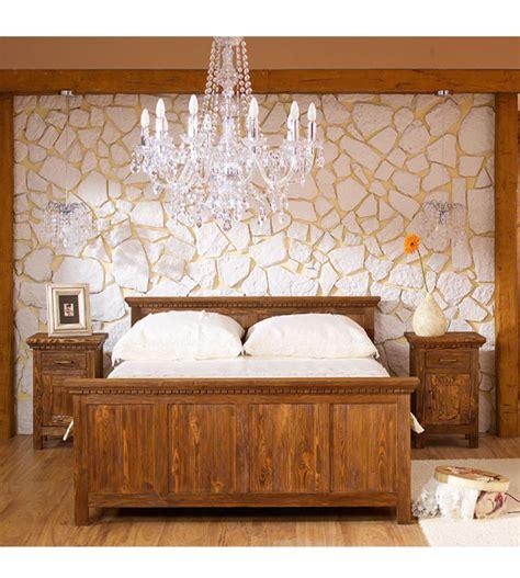 echtholzmöbel schlafzimmer bett 140x200 cm klassisch lattenrost 4 schubladen