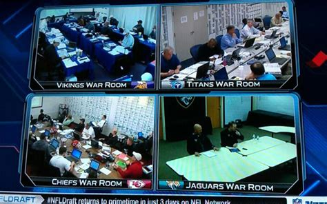 football war room what team or teams do you think desperately needs a redesign nfl