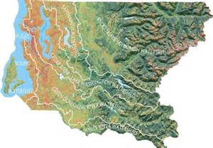watershed map watersheds rivers and streams king county