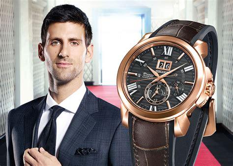 Seiko Djokovic by Seiko Premier Kinetic Perpetual Novak Djokovic Special