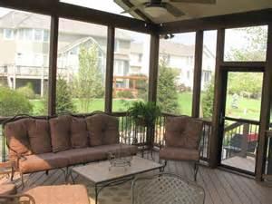 screened porch interior designs in kansas city archadeck