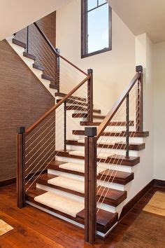 stairs after c section lowes stair treads staircase contemporary with cable rail