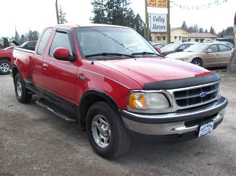 valley ford kalispell 1997 ford f 150 lariat 3dr extended cab stepside sb in