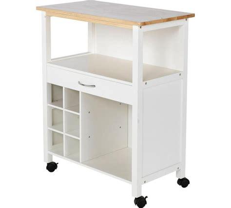 kitchen trolley storage buy home kitchen trolley with wine rack at argos co uk