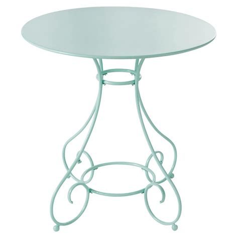 tavolo verde tavolo verde da giardino in metallo d 70 cm maisons