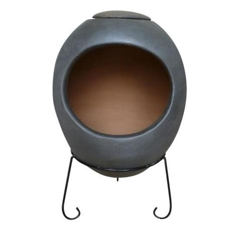 clay chiminea patio heater pit indoor heater wood