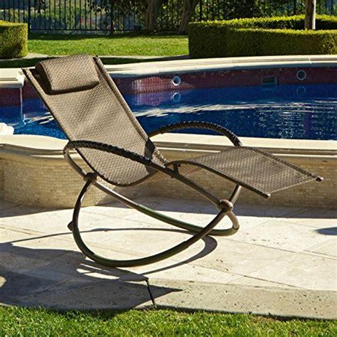 Rst Outdoor Furniture by Rst Outdoor Op Ol04s Brn Luis Orbital Zero Gravity Lounger