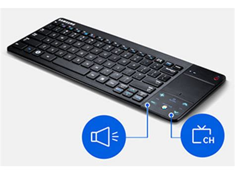 Keyboard Samsung Smart Tv samsung vg kbd2500 smart wireless keyboard for smart tv ebay
