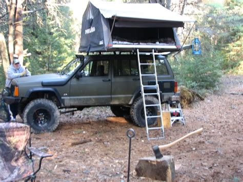 jeep grand roof top tent roof top tent on my 98 jeep forum