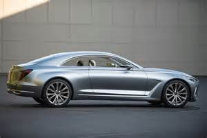 Hyundai Genesis Coupe Concept Hyundai Vision G Concept Coupe Unveiled Performancedrive