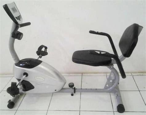 Harga Sepeda Fitnes Crosstrainer Tl 2516 Bisa Cod recumbent bike tl370 sepeda magnetic cocok untuk org tua terlaris