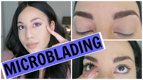 first 14 days of the healing process after microblading microblading 10 days of healing results youtube