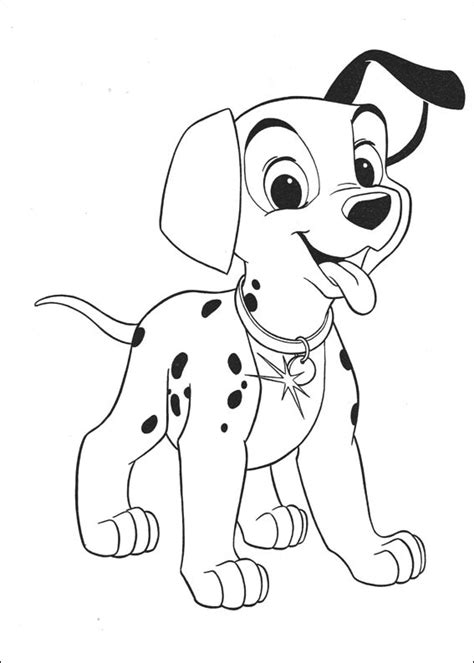 disney dogs coloring pages disney 101 dalmatians coloring pages