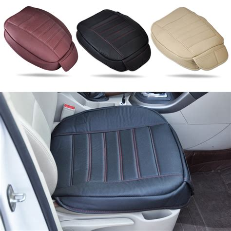 front seat of car called universal pu leather car interior front seat cover seatpad