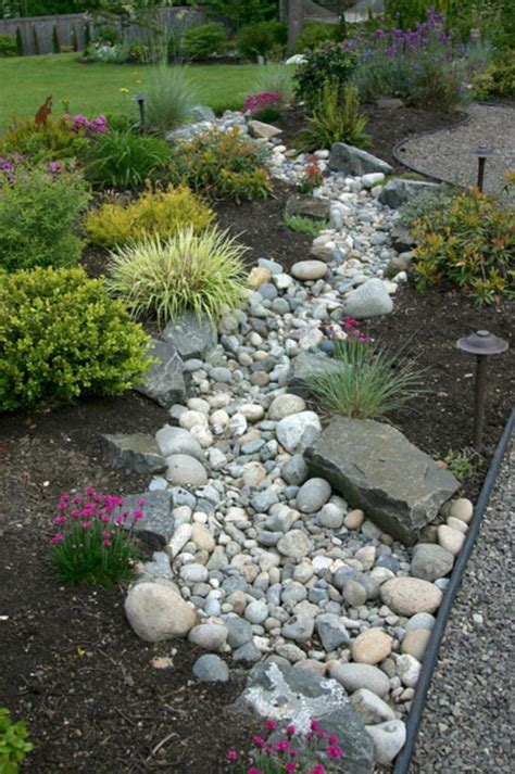 River Rock Garden Ideas Landscaping With River Rock River Rock Garden Ideas