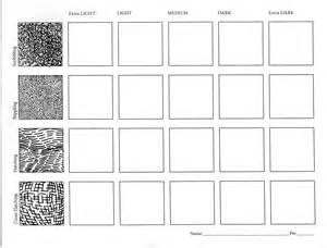 ink value drawing worksheet two art with ross
