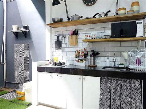 dekorasi dapur minimalis ukuran kecil  cantik