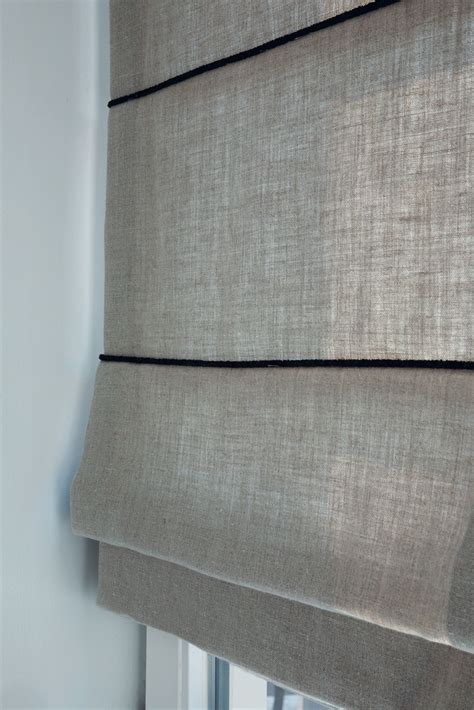 white textured l shade decorate your windows with a tailored textured look for