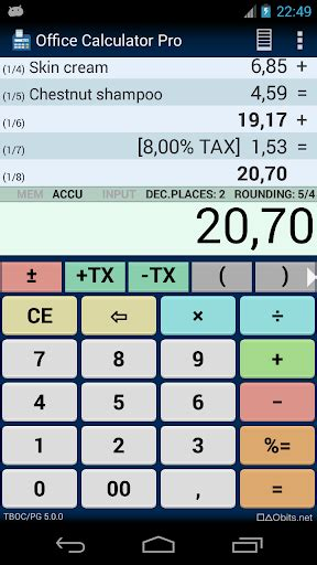 calculator pro apk office calculator pro for android