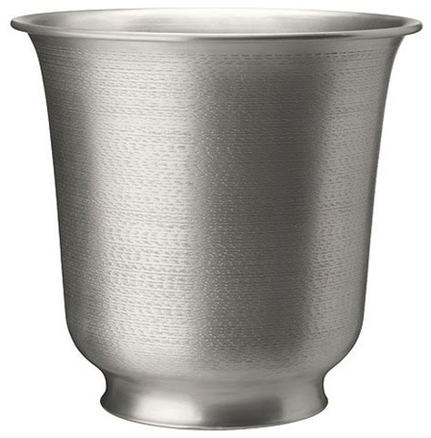 Silver Planters Indoor by Hasseln 246 T Plant Pot Silver Indoor Pots