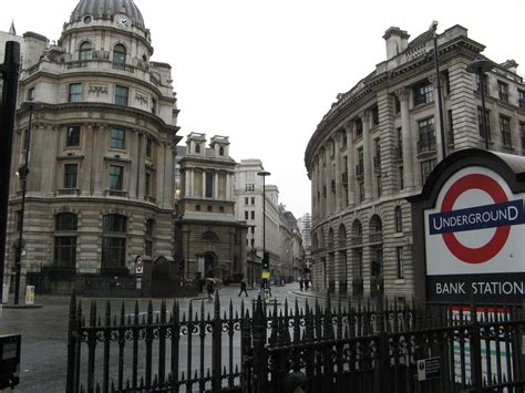 banche londra panoramio photo of bank station city of