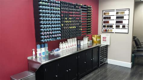 Vanity Salon And Color Bar by We Are Pleased To Present Our Extensive New Color Bar